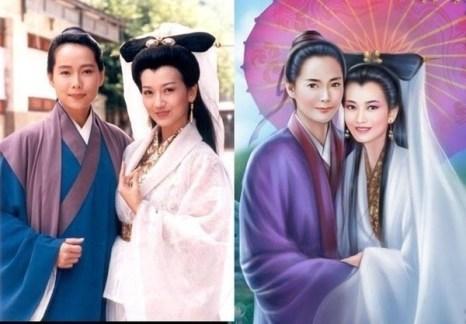 Китайский портрет - от фотографии к живописи. Фото с aboluowang.com