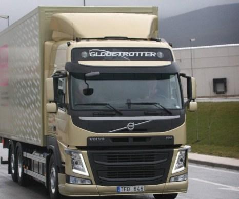 новая модель тяжёлых грузовиков серии FM от концерна Volvo Trucks Corporation. Фото с сайта volvotrucks.com