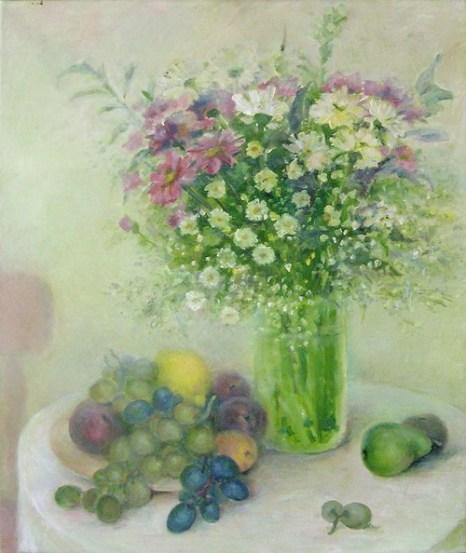 Фрукты, цветы. Фото с сайта tarbut.zahav.ru