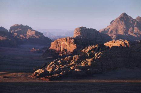 Вади Рам – Лунная долина на юге Иордании 28 марта 2013 г. Фото: Adam Pretty/Getty Images