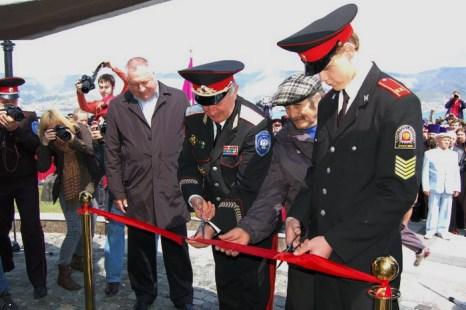 Открытие памятника в Новороссийске. Фото: Наталья Герасимова