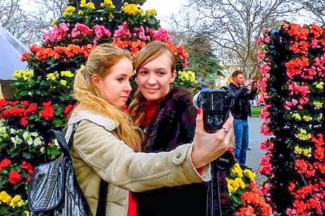 Выставка цветов ко Дню влюбленных в Севастополе. Фото: Алла Лавриненко/Великая Эпоха (The Epoch Times)