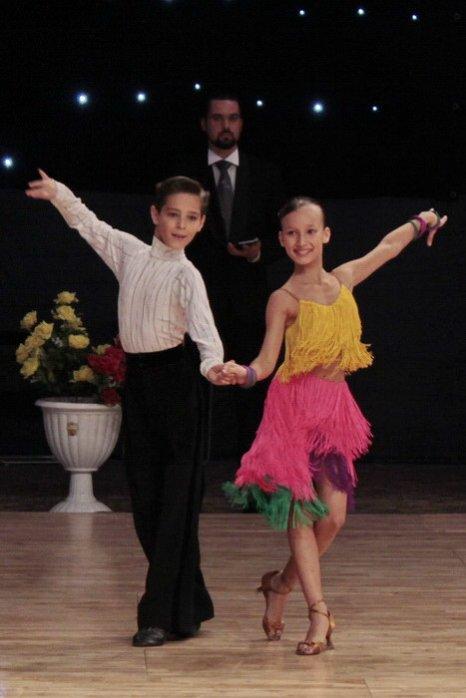 Выступление пары в категории «Юниоры 1», дисциплина «Латина». Фото: Николай Карпов/Великая Эпоха (The Epoch Times)