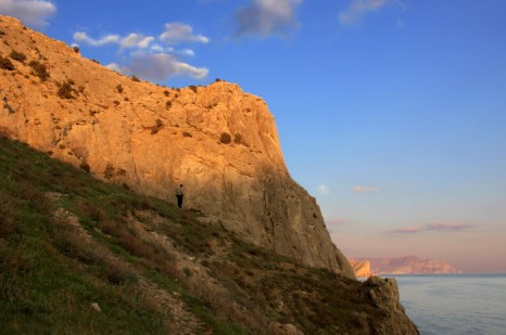 Море в районе посёлка Уютный. Фото: Ирина Рудская/Великая Эпоха (The Epoch Times)