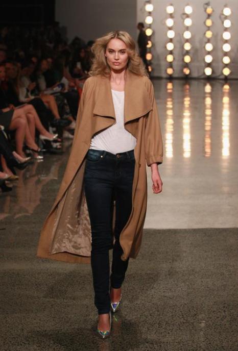 Новую коллекцию новозеландского бренда Hailwood представили в рамках Недели моды 3 сентября 2013 года в Окленде. Фото: Sandra Mu/Getty Images