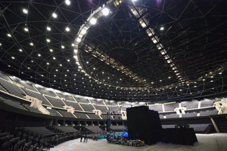 В столице Шотландии Глазго завершено строительство одной из самых больших в мире концертных площадок — многофункциональной арены The Hydro. Фото: Jeff J Mitchell/Getty Images