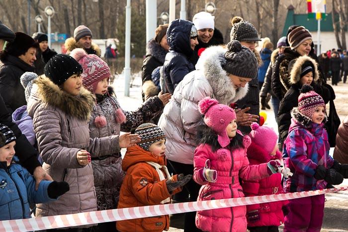 Масленица в Абакане. Фото: Сергей Тугужеков/Великая Эпоха (The Epoch Times)