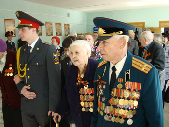 Чествование ветеранов-красноярцев. Фото:Александр Куликовский