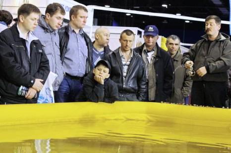 Мастер-класс по рыбной ловле Юрия Заславского. Фото: Николай Карпов/Великая Эпоха (The Epoch Times)
