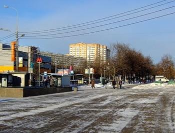 Район метро Беляево в Москве. Фото: fotki.yandex.ru