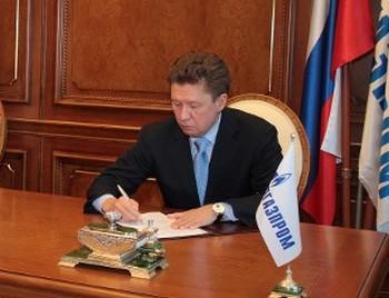 Председатель Правления ОАО «Газпром» Алексей Миллер. Фото: gazprom.ru