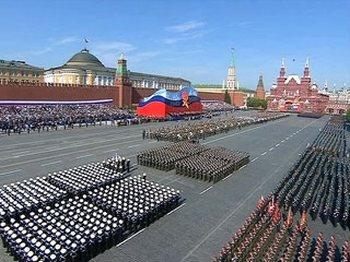 9 мая, в День Победы, на Красной площади состоится парад. Фото с news.made.ru