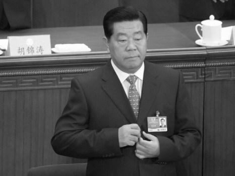 Цзя Цинлинь выступает в Great Hall в Пекине, 3 марта 2009 года. Фото: Лю Цзань/AFP/Getty Images