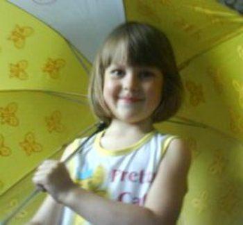 Лиза Фомкина - 5-летняя девочка, пропавшая в лесу, найдена мертвой. Фото с сайта tltgorod.ru