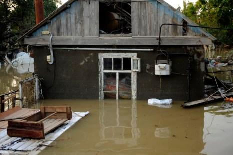 наводнения в Краснодарском крае. Фото: MIKHAIL MORDASOV/AFP/Getty Images