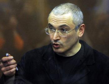 Михаил Ходорковский решил обратиться к президенту Медведеву . Фото: DMITRY KOSTYUKOV/AFP/Getty Images