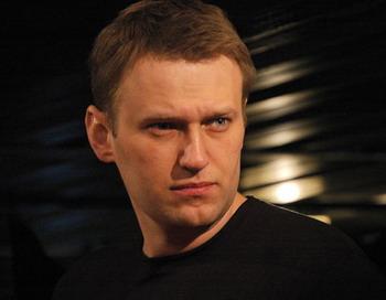 Навальный Алексей, известный блогер, на поддержку сайта «РосПил»  собрал около 4 млн рублей. Фото с сайта nnm.ru