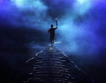 Огонь для Олимпиады-2014, возможно, побывает в космосе.  Фото: Adam Pretty/Getty Images