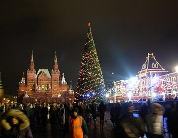 Красная площадь в Новый год будет открыта для всех. Фото с сайта russiablog.org