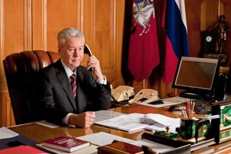 Сергей Собянин. Фото: ALEXEY DRUZHININ/AFP/Getty Images