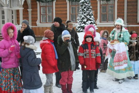 Хлеб да соль Деду Морозу! Фото: Оксана Торбеева/Великая Эпоха (The Epoch Times)