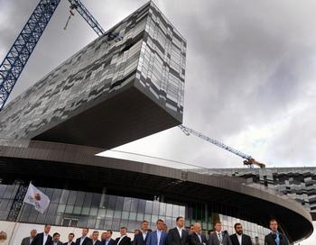 «Кремниевая долина» России будет создаваться в подмосковном Сколкове. Фото: DMITRY KOSTYUKOV/AFP/Getty Images