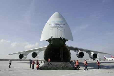 Самолёт Ан-124 «Руслан». Фото: Sean Gallup/Getty Images