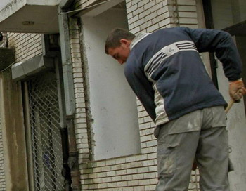 В Москве задержана бригада строителей-грабителей. Фото: NIKOLA BESEVIC/AFP/Getty Images
