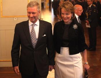 Принц Бельгии Филиппе прилетел в Москву с  экономической миссией. Фото: Mark Renders/Getty Images