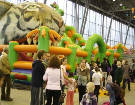 Семейный праздник «Спортлэнд» вновь открылся в Москве. Фото: Ульяна Ким/Великая Эпоха (The Epoch Times)