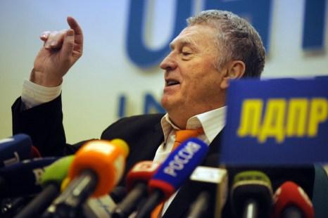Лидер партии ЛДПР Владимир Жириновский. Фото: NATALIA KOLESNIKOVA/AFP/GettyImages