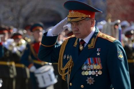 Сергея Шойгу. Фото: KIRILL KUDRYAVTSEV/AFP/Getty Images