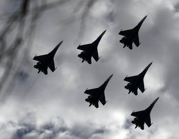 «Русские витязи» выступят на авиасалоне BIAS-2014. Фото: ANDREY SMIRNOV/AFP/Getty Images
