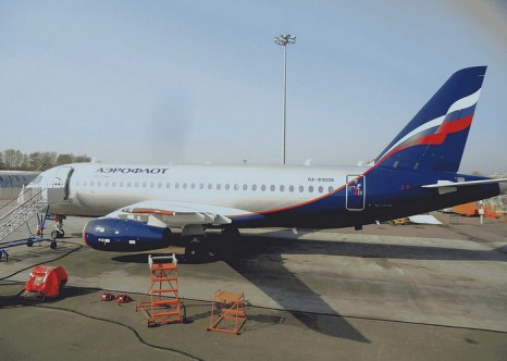Лайнер Superjet-100. Фото: SuperJet International/flickr.com