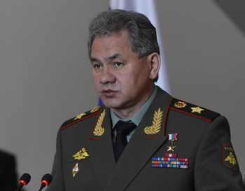 Министр обороны Сергей Шойгу. Фото: HOANG DINH NAM/AFP/Getty Images