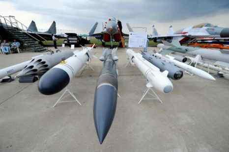 На авиасалоне МАКС-2013 будет представлена техника ПВО. Фото: NATALIA KOLESNIKOVA/AFP/Getty Images
