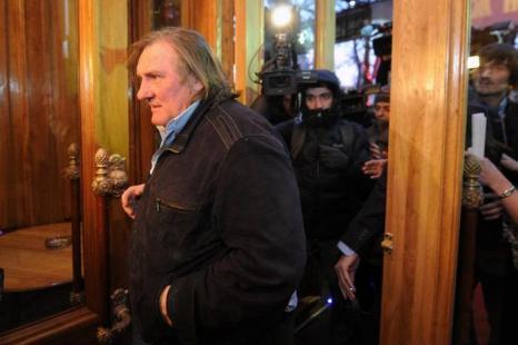 Жерар Депардье, 2013 год. Фото: ANDREY SMIRNOV/AFP/Getty Images