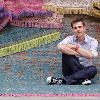 Дизайнерские ковры от салона KOVER BURO. Фото: koverburo.ru
