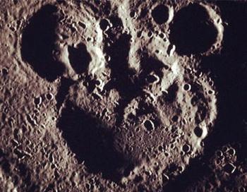 Микки Маус появился на Меркурии. Фото с сайта Newbur.ru