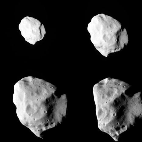 Астероид Лютеция (21 Lutetia) был  заснят космическим аппаратом. Фото: ESA 2010 MPS for OSIRIS Team via Getty Images