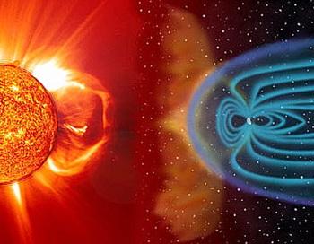 Противостояние Земли и Солнца за счёт смены магнитных полюсов. Фото:  newscom.md