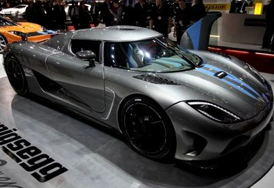 Koenigsegg Agera - 5 место - 390 км/ч. Мощность двигателя: 950 л.с., 1100 Нм. Цена - $1 500 000. Фото с сайта vg.no