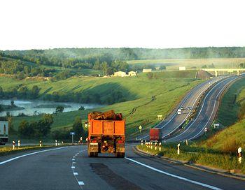«Автодор» к 2016 году планирует сделать платными 3 тысячи километров дорожного полотна. Фото с сайта club.foto.ru