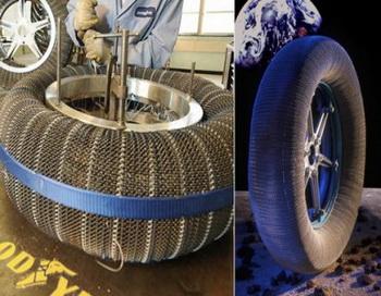 Изобретены шины, которые никогда не сдуваются. Фото с сайта: jetta-club.org