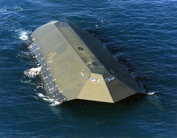 Военный корабль-невидимка выставлен на торги. Фото:navy.mil