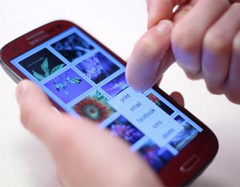 Технология  FingerSense  распознаёт  тип касания. Фото:techvesti.ru/