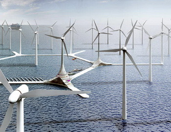 Энергия ветра – наше будущее и настоящее. Ветряные турбины. Фото:liveinternet.ru