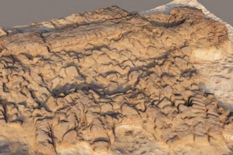 3D-презентация распада глинобитных структур эллинистического периода (II век до н.э.). Фото: Philip Sapirstein