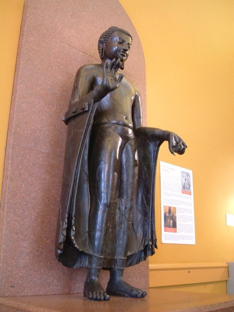 Будда из Султанганжа. Фото: Wikimedia Commons