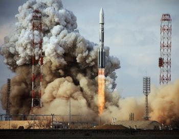 Процесс производства ракеты «Протон» пройдёт проверку. Фото: STR/AFP/Getty Images